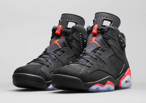 low priced 68065 61d49 Black Infrared' Jordan 6 With Nike Air Dropping All-Star ...