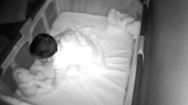 When Mom Hears Moaning from Her Babys Monitor, She Rushes In and Finds This