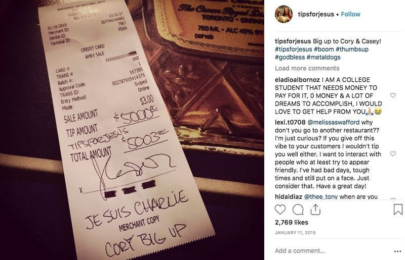 Costumers Ask to Settle the Bill Privately, When Bartender Comes, She Realizes Why