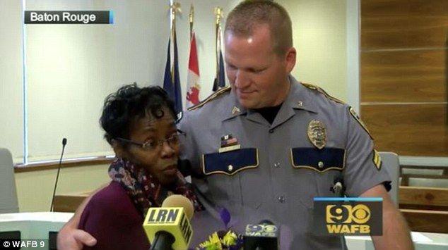 Heroic Grandma Saves Policeman from an Attack