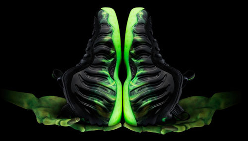 Nike Air Foamposite One Northern Lights Black ...Al Jadid