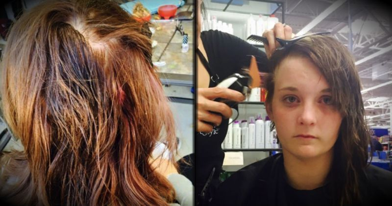 A Bully Pours Super Glue In Her Hair, But What She Does Next Shocks Them All..