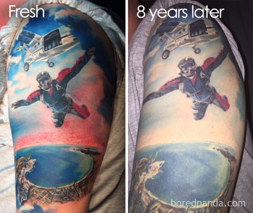 Tattoos: Ever Wondered What Will It Look Like In 10 Years or Even 40