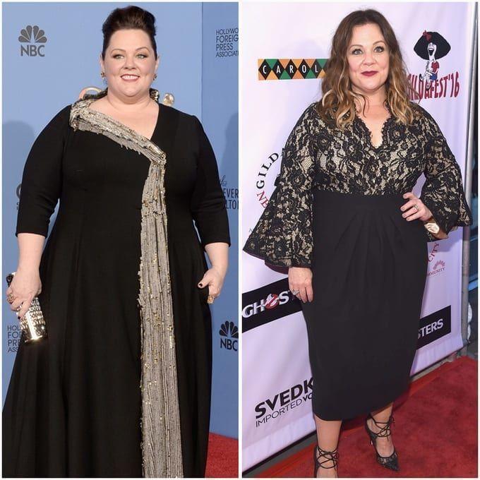 Shocking Celebrity Weight Metamorphosis