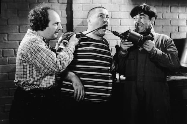 Larry, Curly, and Moe: A Look at the Lives and Careers of The Three Stooges
