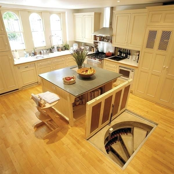 This Homeowner Found a Trap Door Under His Kitchen Table and Discovers the Hidden Parts of His House